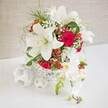 ROSE ORCHID WEDDING CENTREPIECE